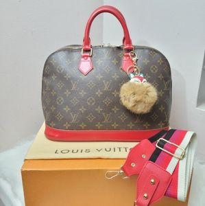 100% Authentic Louis Vuitton Alma pm VI0923
